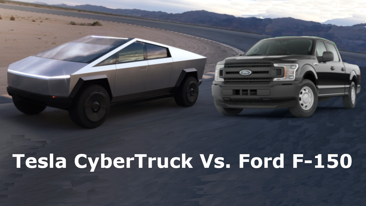 Tesla CyberTruck Vs. Ford F150