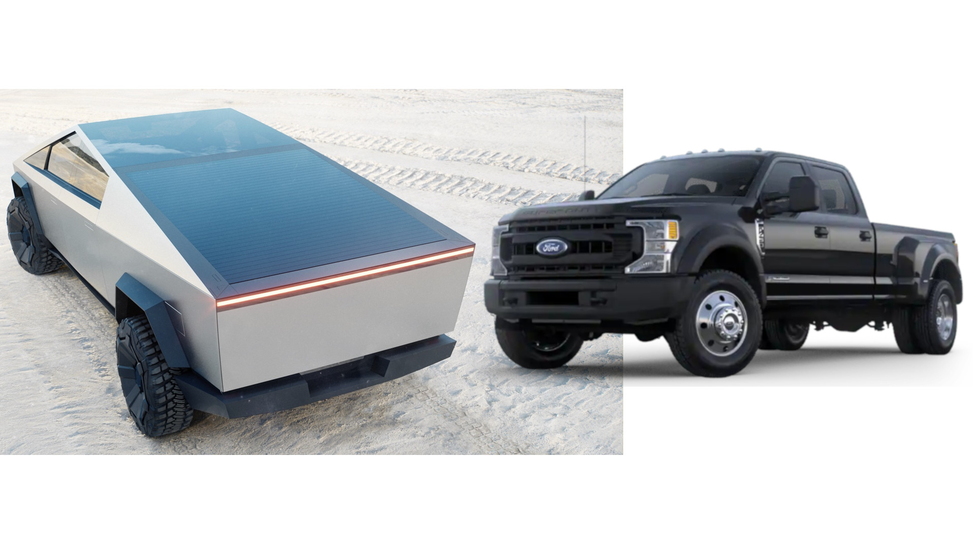 CyberTruck Vs. Ford F450