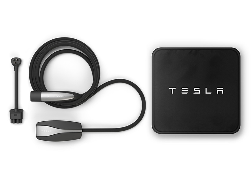Tesla Free Charging Cables.